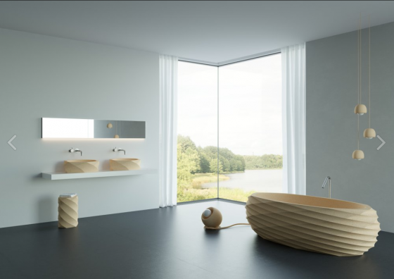 Пробковая ванна  - FREESTANDING BATHTUB SIGMA 1900x850x700 mm