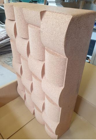 Пробковый блок  3D forms 2020
