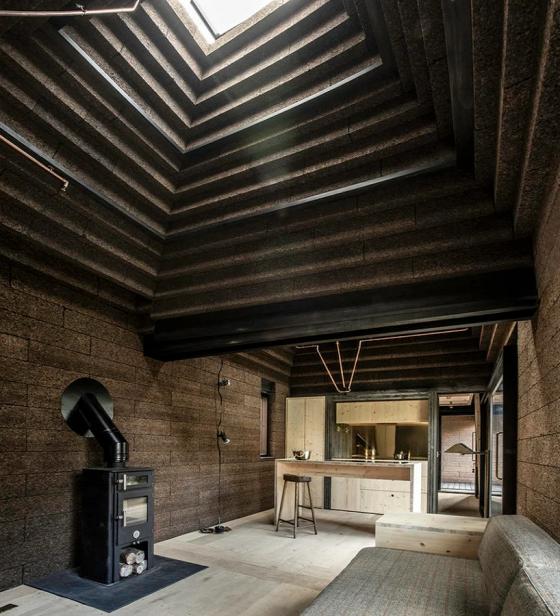 Пробковый дом, Великобритания, Беркшир