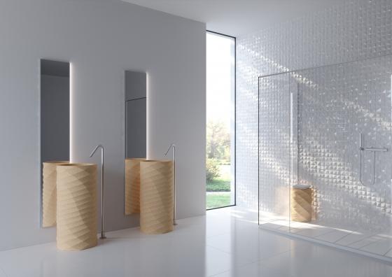 пробковые ванные комнаты