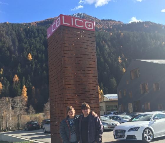 Встреча в Швейцарии LICO и RUSCORK в 2015 году