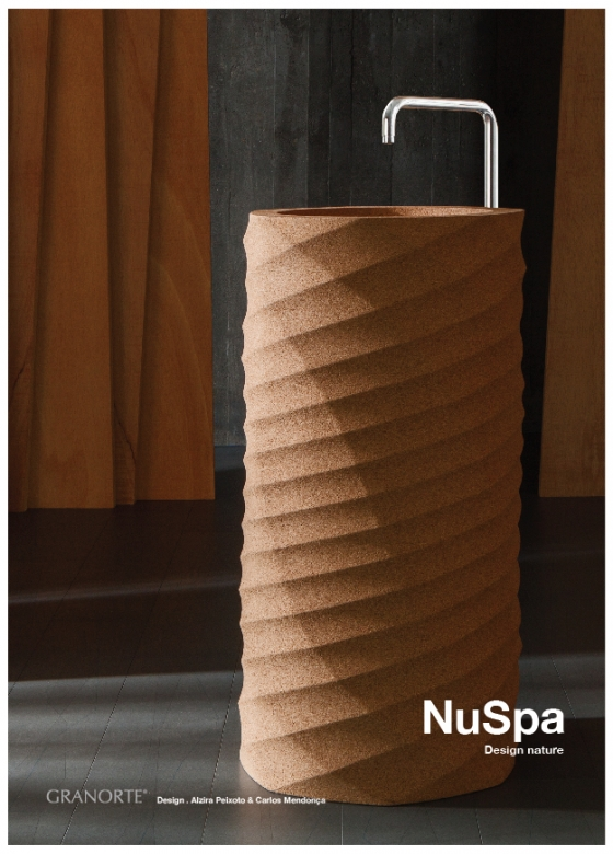 пробковая раковина -FREESTANDING WASHBASIN SIGMA 900x400 mm
