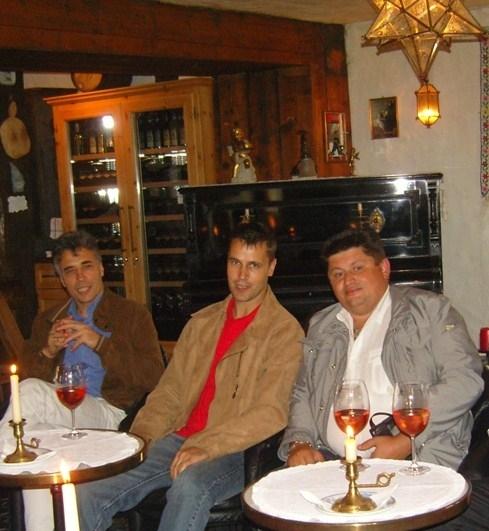 встреча в Швейцарии LICO и RUSCORK в 2007 году