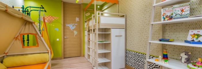 Пробковый пол для детской комнаты