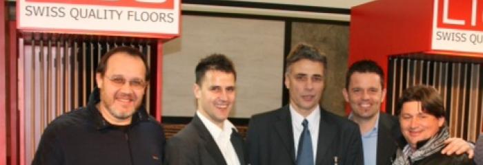 Участники выставки компания RUSCORK и Li&Co AG